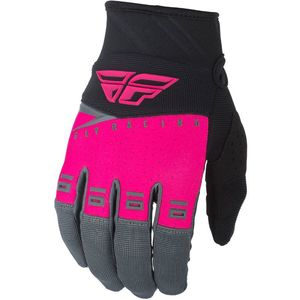 Gants Cross Fly F-16 - Kid Neon Pink Black Grey 2019