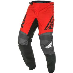 Pantalon cross F-16 - RED BLACK GREY 2019 Red Black Grey
