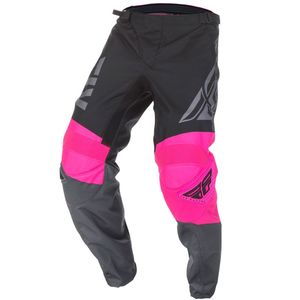 Pantalon Cross Fly F-16 - Kid Neon Pink Black Grey 2019