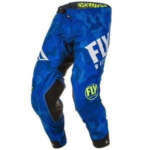 Pantalon cross EVOLUTION DST BLUE WHITE 2020 Blue/White