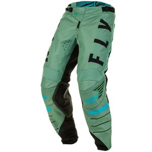 Pantalon cross KINETIC K120 SAGE GREEN BLACK ENFANT  Blue/Black/Red