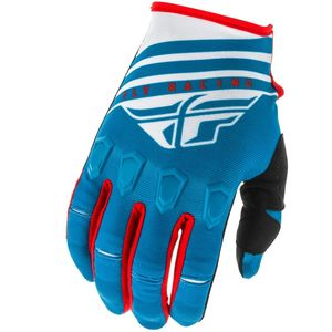 Gants cross KINETIC K220 BLUE WHITE RED 2020 Blue/White
