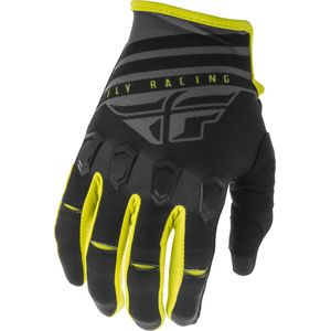 Gants cross KINETIC K220 BLACK GREY HI-VIS 2020 Black