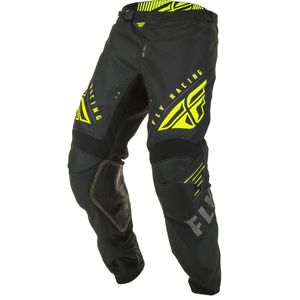 Pantalon cross KINETIC K220 BLACK GREY HI-VIS 2020 Black/Grey