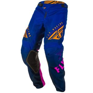 Pantalon cross KINETIC K220 MIDNIGHT BLUE ORANGE 2020 Blue/Orange