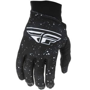 Gants cross PRO LITE BLACK WHITE FILLE  Black