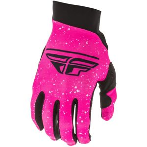 Gants cross PRO LITE NEON PINK BLACK FILLE  Pink/Black