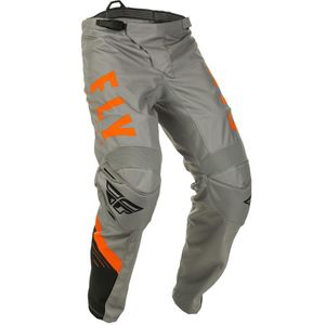 Pantalon cross F-16 RIDING GREY BLACK ORANGE ENFANT  Grey/Black