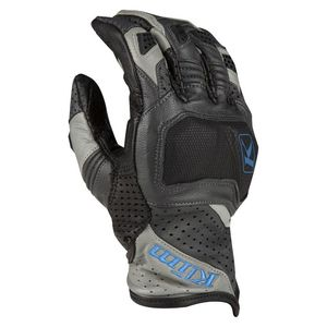 Gants BADLANDS AERO PRO SHORT  Gray/Blue