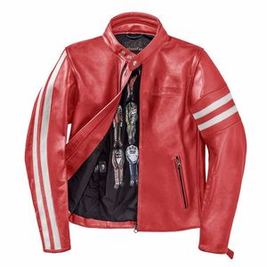 Blouson FRECCIA72  RED/WHITE-S