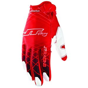 Gants Cross Jt Evo Lite Lazers Rouge Blanc