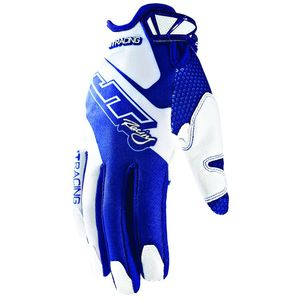 Gants Cross Jt Evo Lite Race Kid Blanc Bleu
