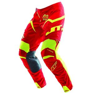 Pantalon Cross Jt Evo Protek Rouge Jaune