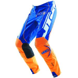 Pantalon Cross Jt Evo Lite Race Kid Bleu Orange