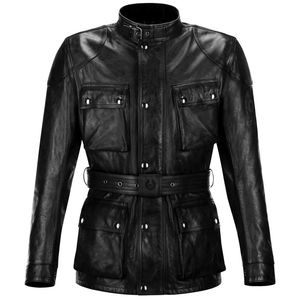 Veste TRIALMASTER PRO LEATHER  Black