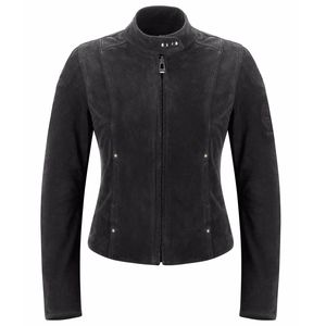 Veste CLEARWAYS WOMAN (cuir et textile)  Black