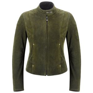 Veste CLEARWAYS WOMAN (cuir et textile)  Green