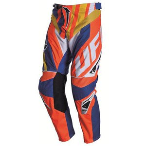 Pantalon Cross Ufo Century Orange/bleu 2015