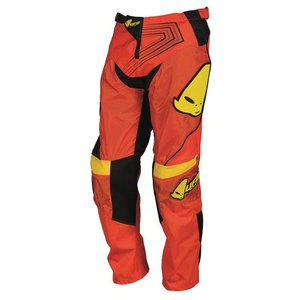 Pantalon cross Ufo ICONIC JUNIOR - ORANGE/JAUNE