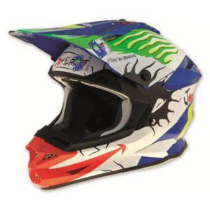 Casque Cross Ufo Interceptor Ii - Joker 2015