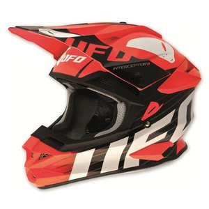 Casque Cross Ufo Interceptor Ii - Red Devil 2015