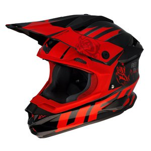 Casque cross INTERCEPTOR II - RED DEMON 2016 Noir/Rouge