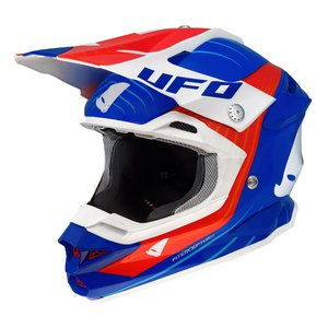 Casque Cross Ufo Interceptor Ii - Bleu Orange 2016