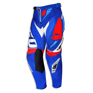 Pantalon cross REVOLUTION - BLEU/ROUGE  2016 Bleu/Rouge