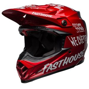 Casque cross MOTO-9 FLEX FASTHOUSE 2019 Red/Navy
