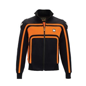 Blouson EASY RIDER  Noir/Orange