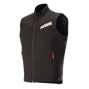 Gilet SESSION RACE  Black Red