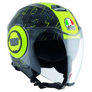 Casque Agv Fluid - Ibiscus