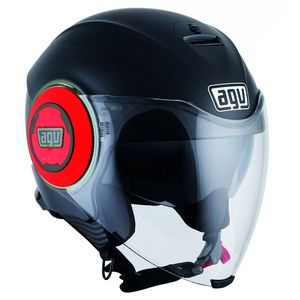 Casque Agv Fluid - Matt Black