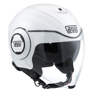 Casque Agv Fluid - Mono White