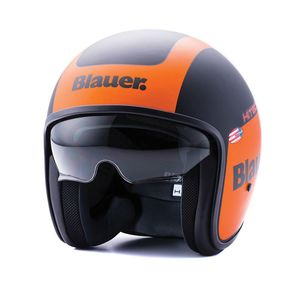 Casque PILOT 1.1 GRAPHIC G MAT  Noir/Orange