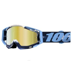Masque Cross 100% Racecraft - Tiedye Gold Lens 2017