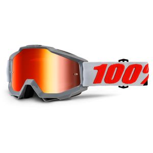 Masque Cross 100% Accuri - Solberg - Ecran Iridium Rouge 2018