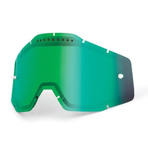 Ecran DOUBLE VENTILE IRIDIUM - RACECRAFT / ACCURI / STRATA  Iridium vert