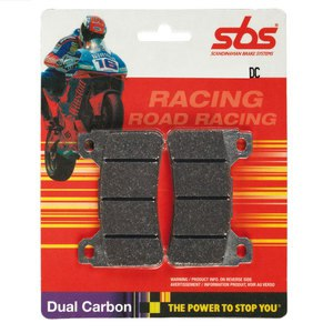 Plaquettes de freins Racing carbon avant