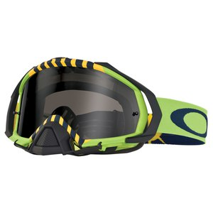 Masque cross MAYHEM PRO MX  - FLIGHT SERIES ROYAL ACES DARJ GREY 2015 noir vert