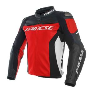 Blouson Dainese RACING 3 Red/Black/White