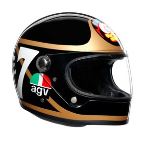 Casque X3000 - BARRY SHEENE - LIMITED EDITION  Black/Gold