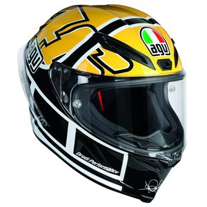 Casque CORSA R - ROSSI GOODWOOD  Noir/Jaune