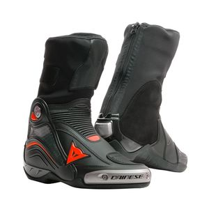 Bottes Dainese AXIAL D1 - FLUO Black/Fluo Red