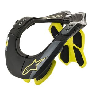 Protection cervicale BNS TECH-2 2019 Black/Yellow