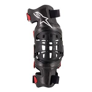 Genouillères BIONIC-10 CARBON LEFT 2019 Black/Red