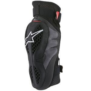 Genouillères SEQUENCE PROTECTOR - BLACK RED 2021 Black/Red