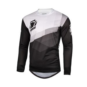 Maillot cross TWO BLACK/WHITE 2021 Noir/Blanc