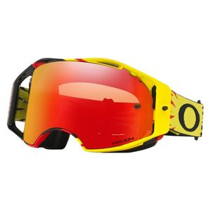 Masque cross AIRBRAKE MX - High Voltage Yellow/Red écran Prizm MX Torch Iridium 2021 Jaune/Rouge