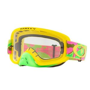 Masque cross O Frame 2.0 Thermo Camo PYG écran transparent 2021 Jaune/Vert